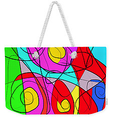 Sailing Into The Wind Weekender Tote Bag