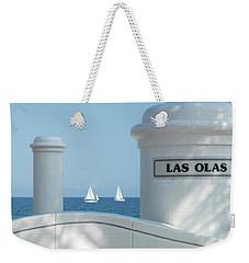 Sailing Las Olas Weekender Tote Bag