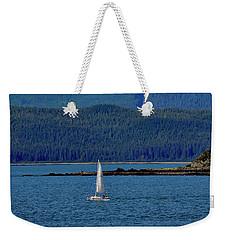Sailing Lynn Canal Weekender Tote Bag