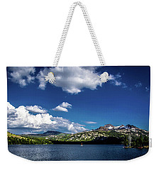 Sailing On Caples Lake Weekender Tote Bag