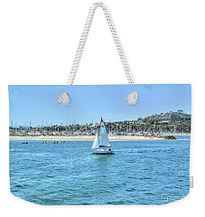 Sailing Out Of The Harbor Weekender Tote Bag