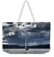 Sailing Puget Sound Weekender Tote Bag