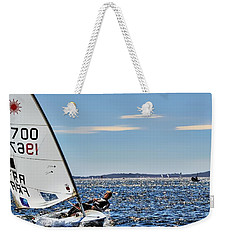 Sailing Ship  In Marseille Weekender Tote Bag