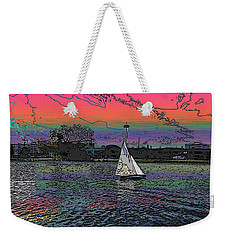 Sailing South Lake Union Weekender Tote Bag by Tim Allen