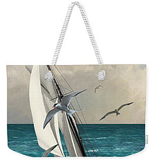 Sailing Southern Seas Weekender Tote Bag