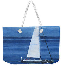 Sailing The Blues Weekender Tote Bag