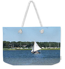 Sailing The Cape Weekender Tote Bag