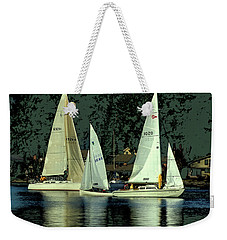 Sailing The Harbor Weekender Tote Bag