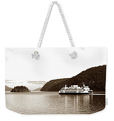 Sailing The San Juan Islands Weekender Tote Bag