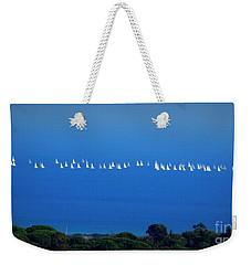 Sailing The Sea And Sky Weekender Tote Bag