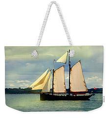 Sailing The Sunny Sea Weekender Tote Bag