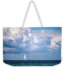 Sailing Under The Clouds Weekender Tote Bag