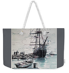 Sailing Vessel Pandora Weekender Tote Bag