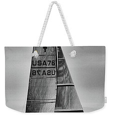 Sailing With Dolphins Weekender Tote Bag