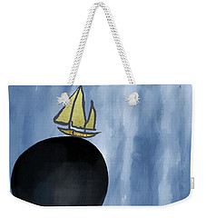 Sailing Your Dreams Weekender Tote Bag by Kandy Hurley