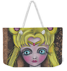 Sailor Moon Weekender Tote Bag by Abril Andrade Griffith