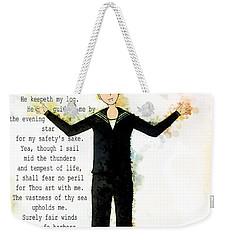 Sailor's Prayer Weekender Tote Bag