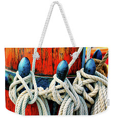 Sailor's Ropes Weekender Tote Bag