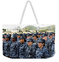 Sailors Yell Before An All-hands Call Weekender Tote Bag