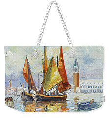 Sails 10 - Venice San Marco Weekender Tote Bag by Irek Szelag