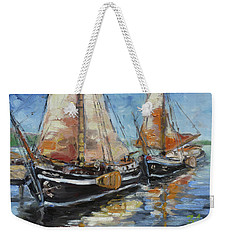Sails 13 Weekender Tote Bag by Irek Szelag