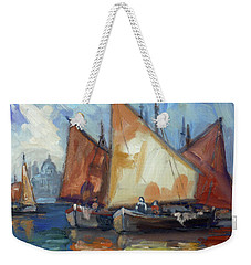 Sails 2 - Venice Weekender Tote Bag by Irek Szelag