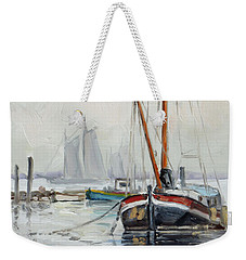 Sails 5 - Dutch Canal Weekender Tote Bag by Irek Szelag