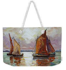 Sails 6 Weekender Tote Bag by Irek Szelag