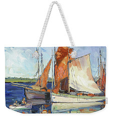 Sails 9 Weekender Tote Bag by Irek Szelag