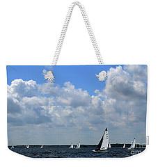 Sails And Clouds Weekender Tote Bag