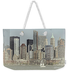 Sails On The Hudson Weekender Tote Bag