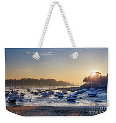 Weekender Tote Bag featuring the photograph Saint Briac by Delphimages Photo Creations