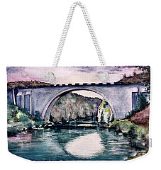 Saint Bridge Weekender Tote Bag by Geni Gorani