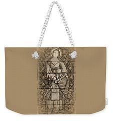 Saint Cecelia Weekender Tote Bag by Dave Luebbert