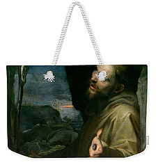 Saint Francis Weekender Tote Bag by Federico Barocci