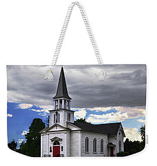 Weekender Tote Bag featuring the photograph Saint James Episcopal Church 001 by George Bostian