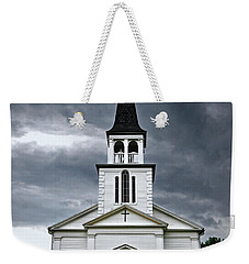 Weekender Tote Bag featuring the photograph Saint James Episcopal Church 002 by George Bostian