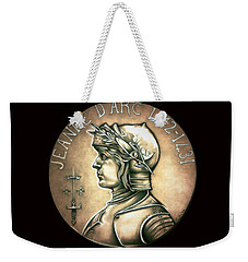 Saint Joan Of Arc Weekender Tote Bag