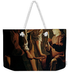 Saint Joseph The Carpenter  Weekender Tote Bag