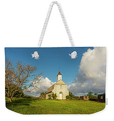 Weekender Tote Bag featuring the photograph Saint Joseph's Church by Ryan Manuel