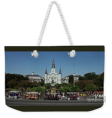 Saint Lewis Cathedral French Quarter New Orleans, La Weekender Tote Bag