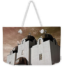 Saint Louis Coptic Orthodox  Weekender Tote Bag by Luther Fine Art