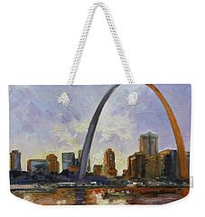 Saint Louis Skyline 3 Weekender Tote Bag