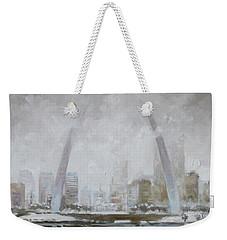 Saint Louis Winter Day Weekender Tote Bag