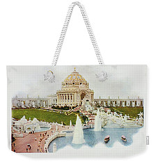 Saint Louis World's Fair Festival Hall And Central Cascade                            Weekender Tote Bag by Irek Szelag