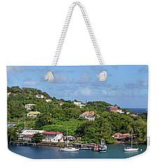 Saint Lucia Panorama Weekender Tote Bag