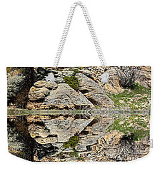 Weekender Tote Bag featuring the photograph Saint Malo Panorama by Shane Bechler