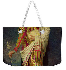 Saint Margaret Slaying The Dragon Weekender Tote Bag by Antoine Auguste Ernest Herbert