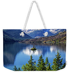 Saint Mary Lake And Wild Goose Island Weekender Tote Bag