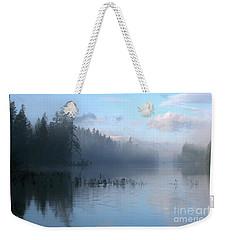 Saint Mary Lake Weekender Tote Bag